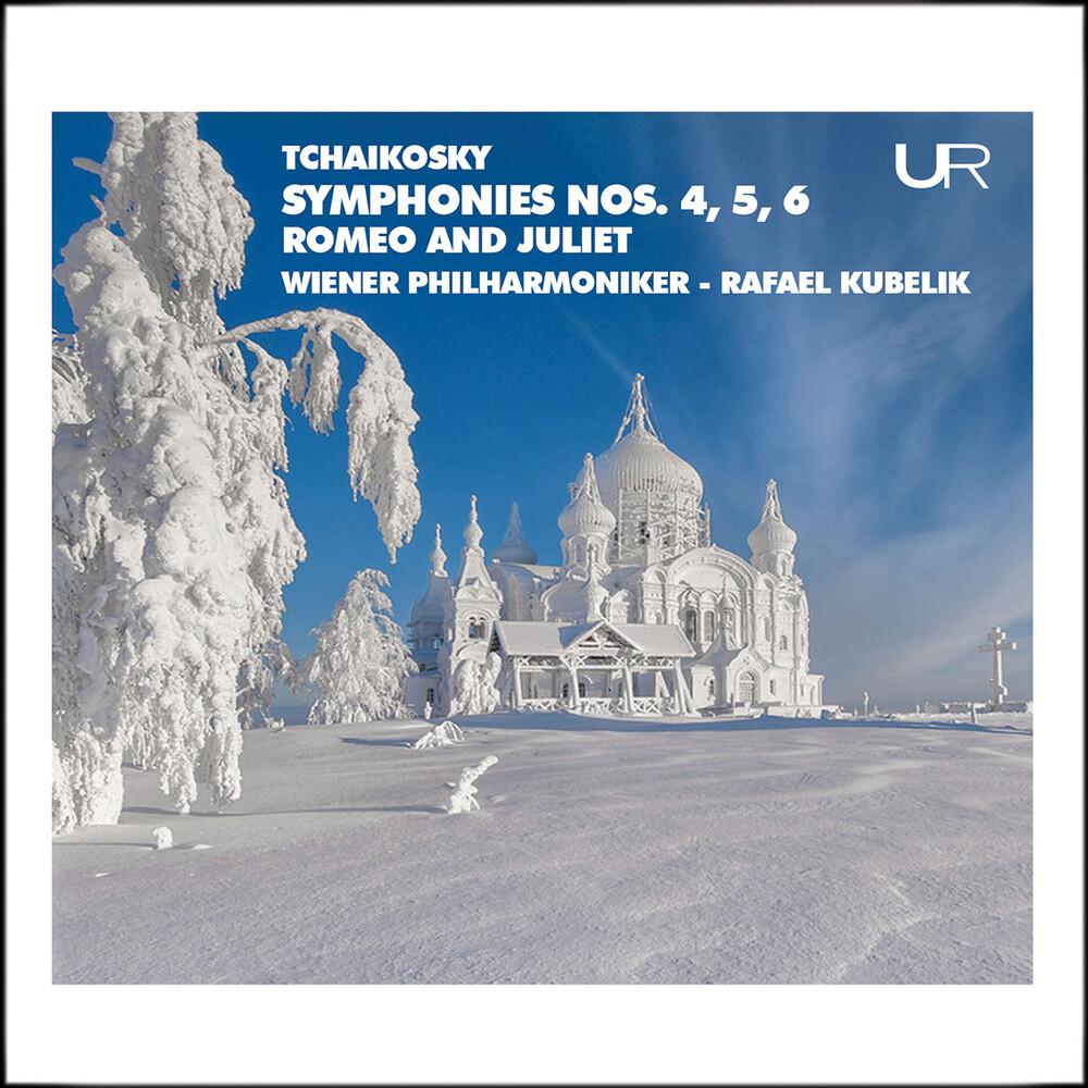 Rafael Kubelik - Symphonies 4 5 & 6 (2pk)