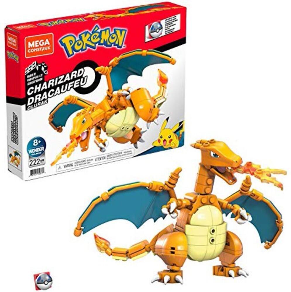 Mega Bloks Pokemon - MEGA Brands - Pokemon Charizard