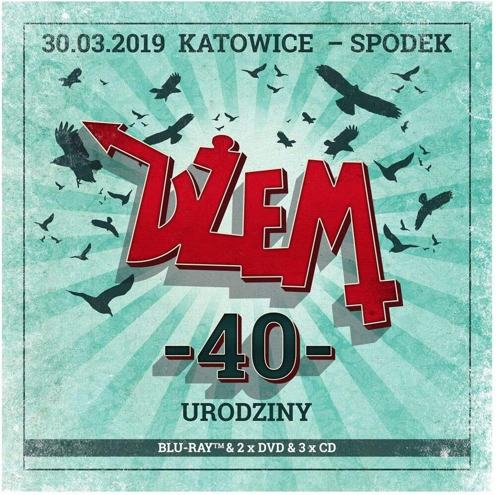 Dzem - 40 Urodziny (3CD+2DVD+1BR)