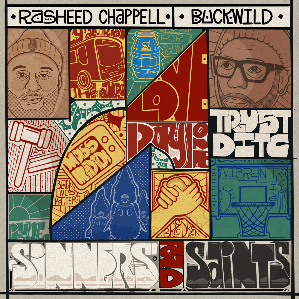 Rasheed Chappell & Buckwild - Sinners & Saints