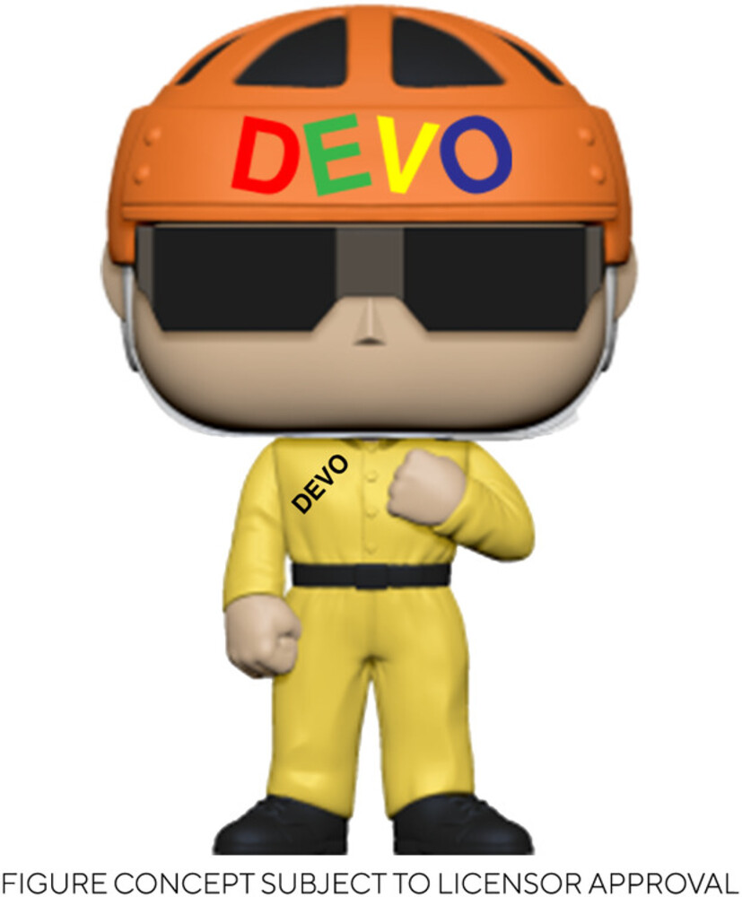 - FUNKO POP! ROCKS: Devo - Satisfaction (Yellow Suit)