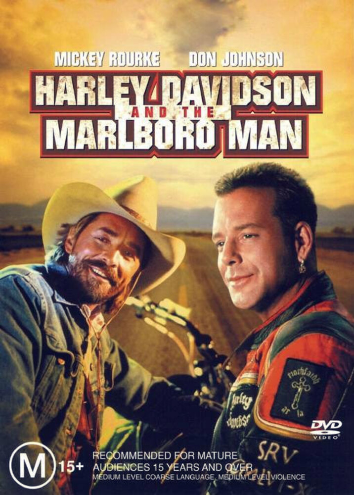 Mickey Rourke - Harley Davidson and the Marlboro Man