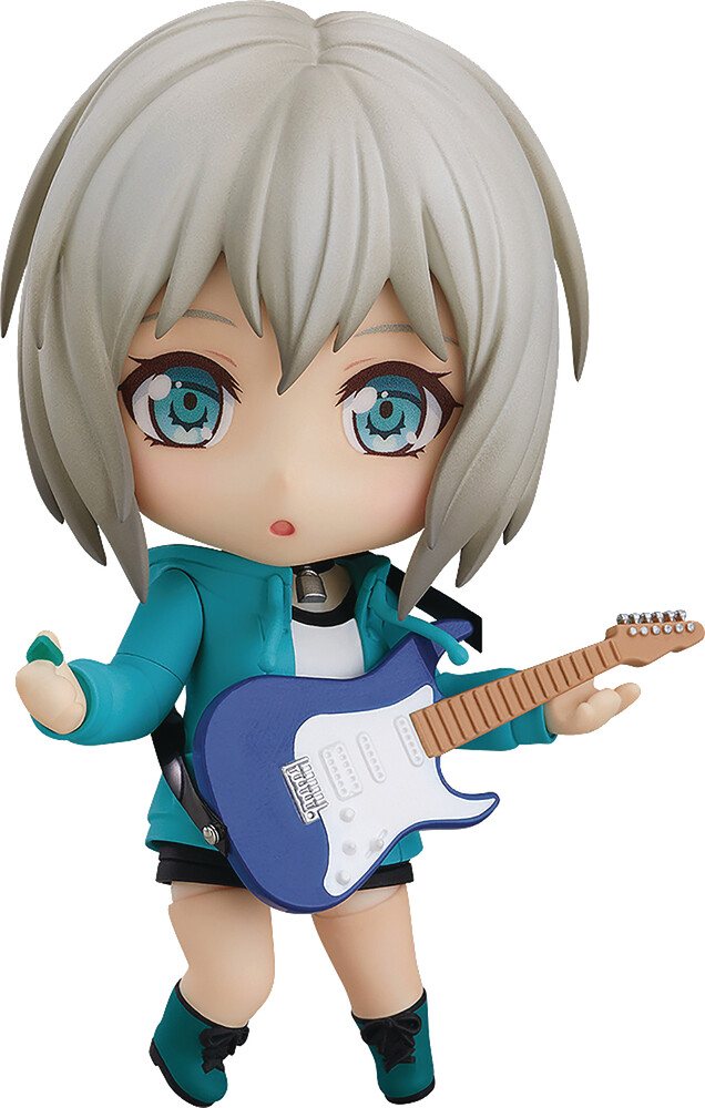 Good Smile Company - Good Smile Company - Bang Dream Girls Band Moca Aoba Stage OutfitNendoroid Action Figure