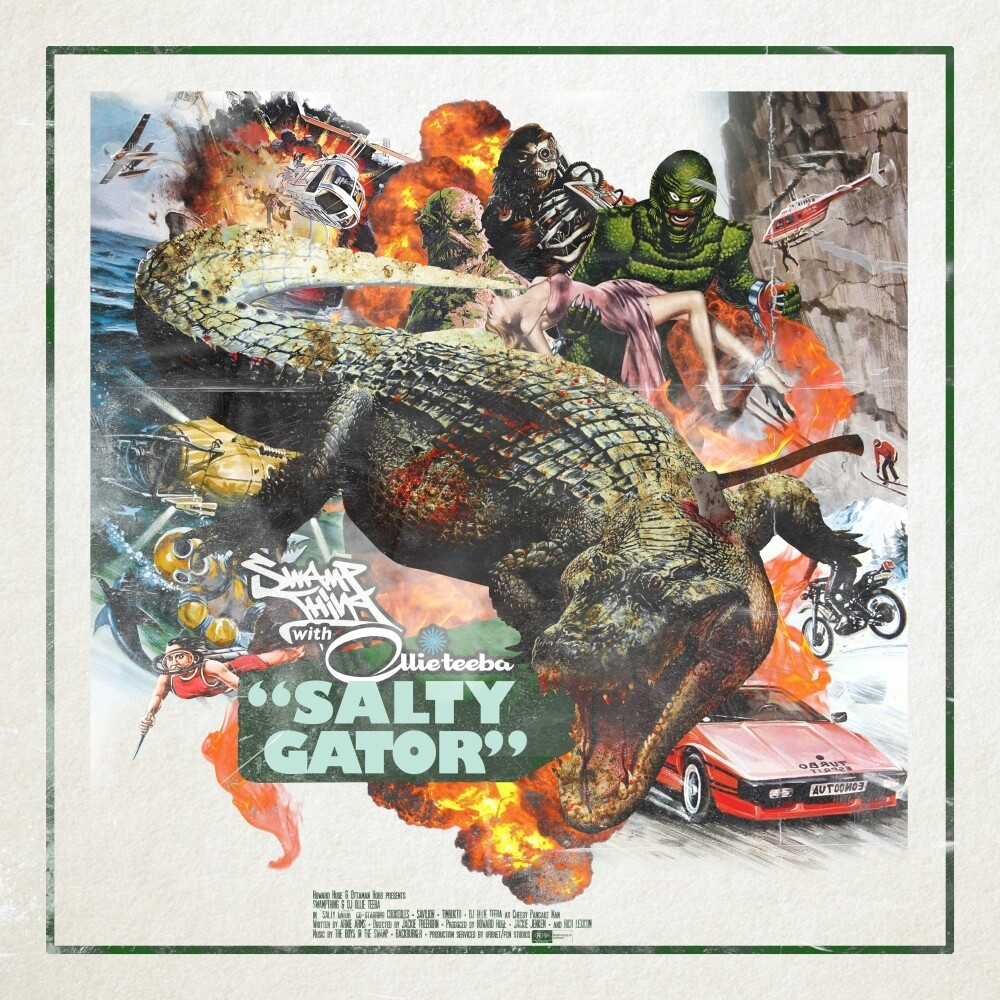 Swamp Thing / Ollie Teeba - Salty Gator