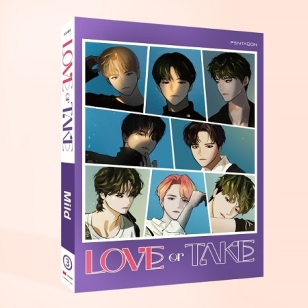 Pentagon - Love Or Take (Mild Version) (Post) [With Booklet] (Phot)