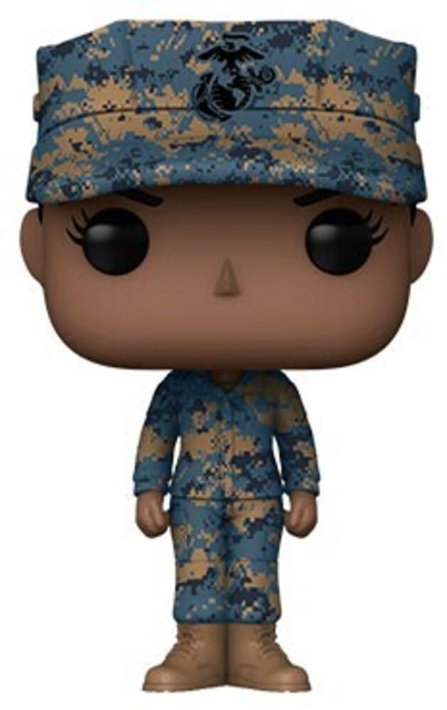 Funko Pop! Millitary: - Marine Female - A (Vfig)
