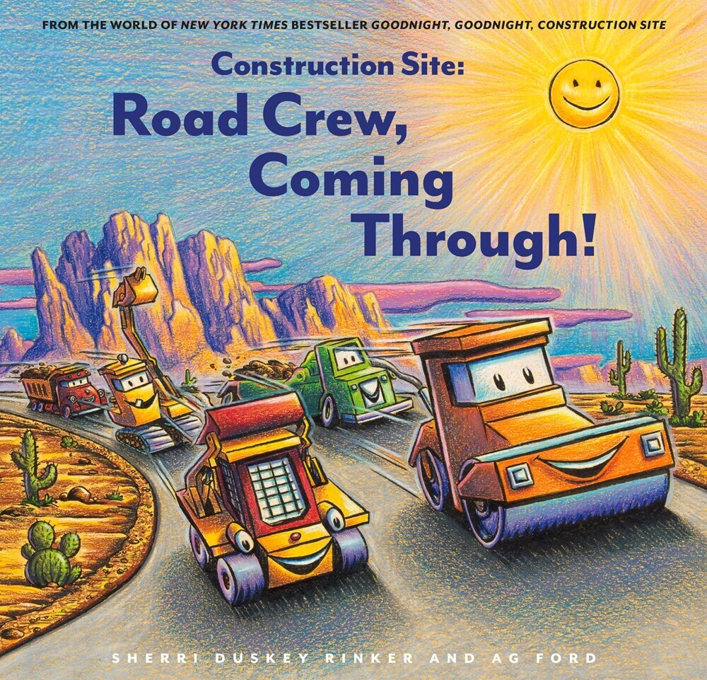 Sherri Rinker  Duskey / Ford,Ag - Construction Site Road Crew Coming Through (Hcvr)