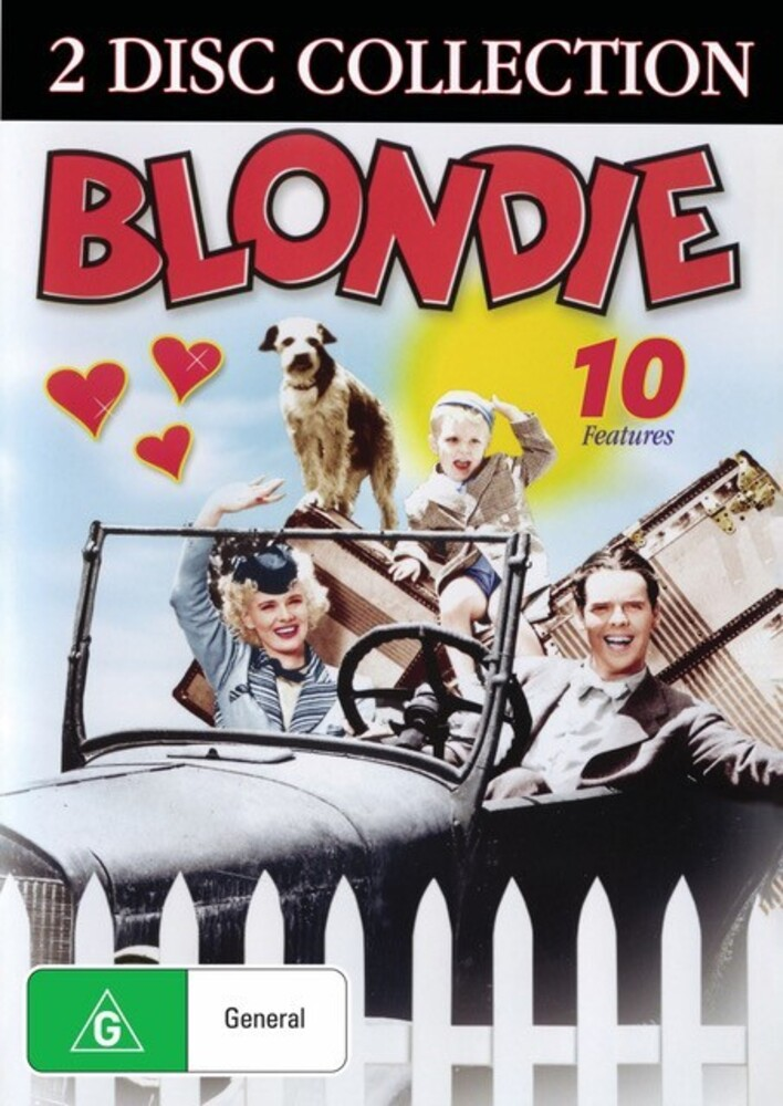 Blondie: 10 Features Collection - Blondie: 10 Features Collection (2pc) / (Aus Ntr0)
