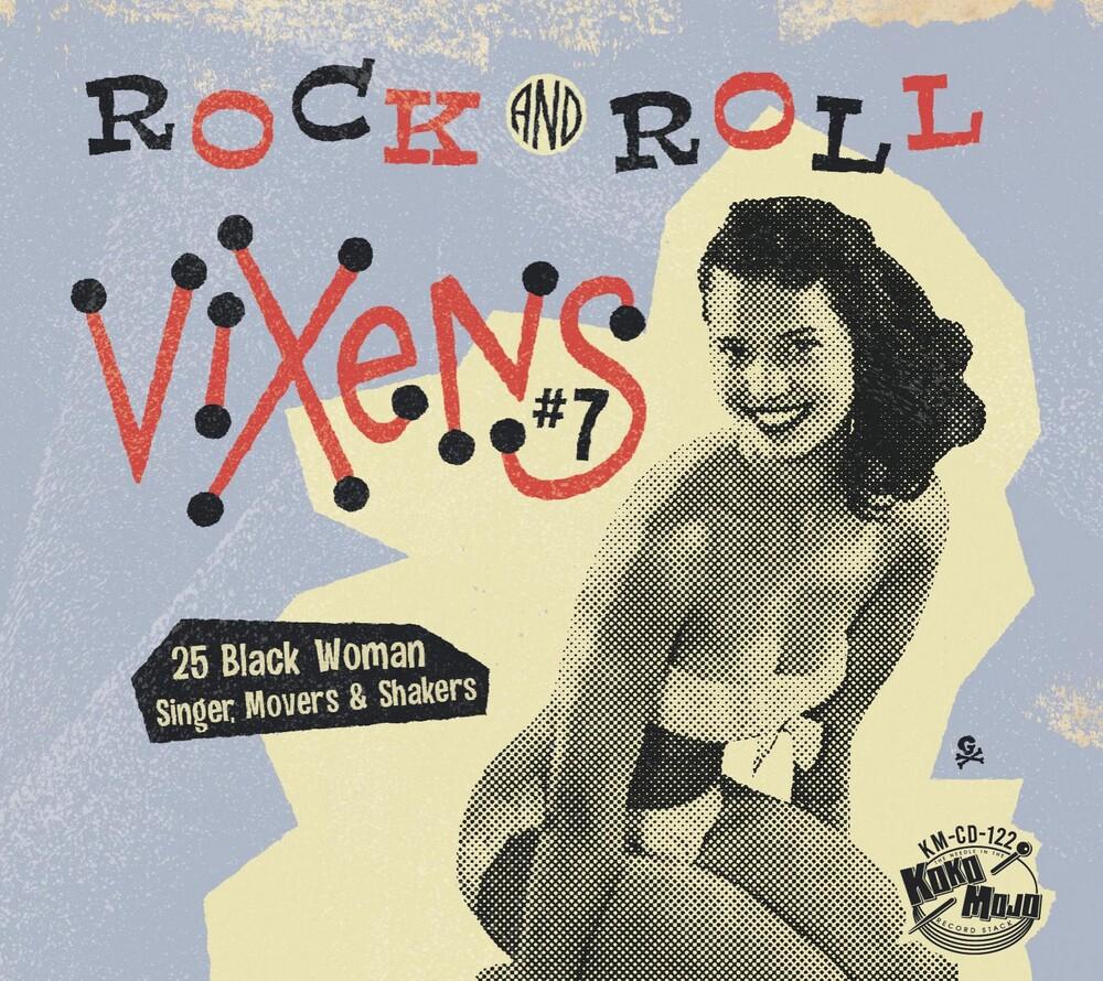 Various Artists - Rock And Roll Vixens 7 (Various Artists)