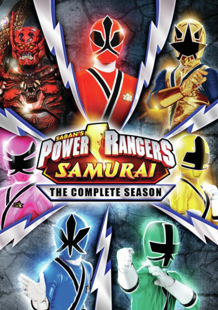 Power Rangers Samurai: Complete Series - Power Rangers Samurai: Complete Series (5pc)