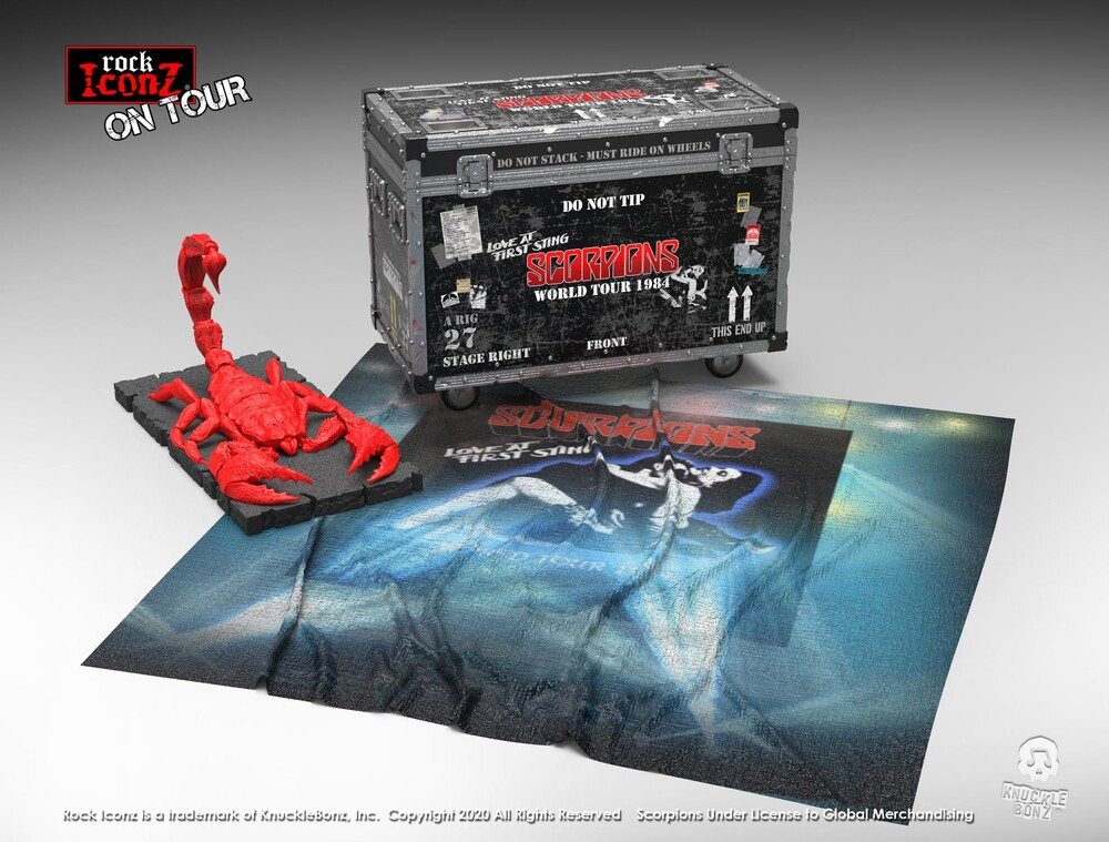 Knucklebonz - Scorpions Road Case On Tour Collectible