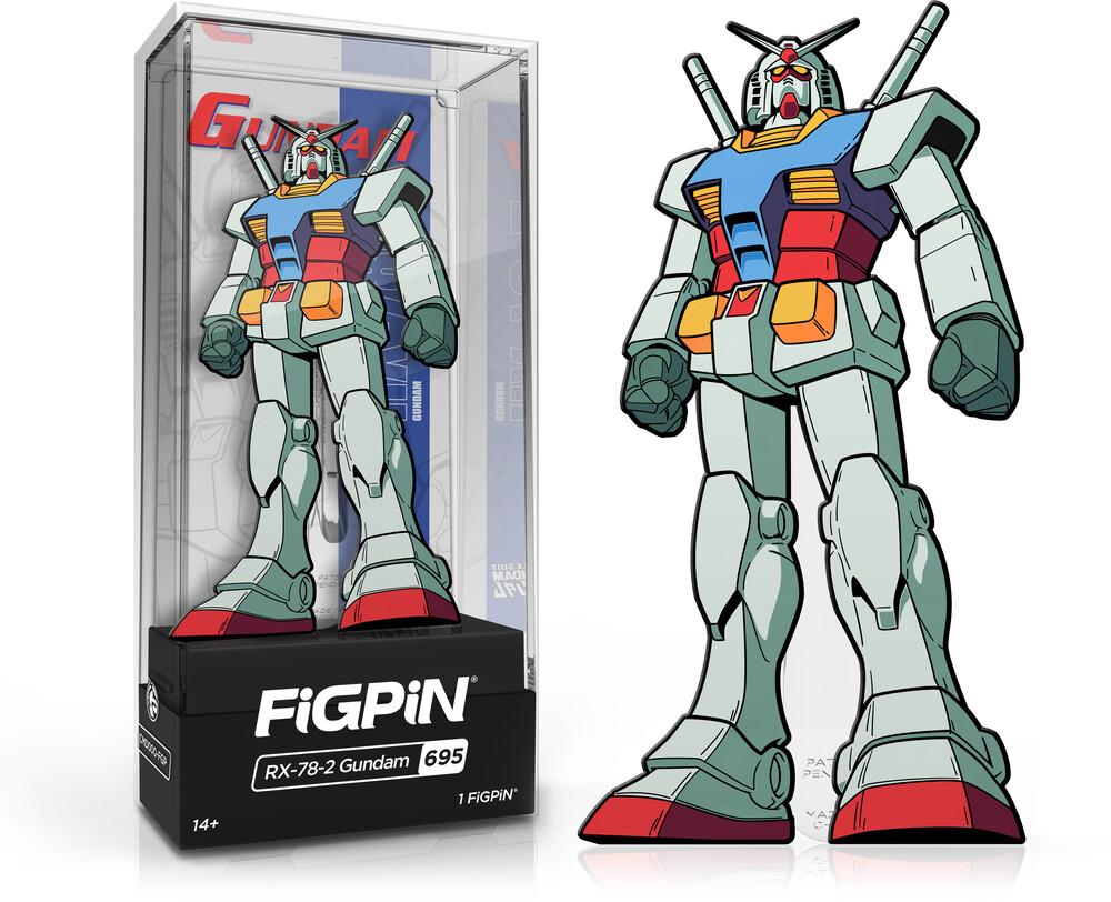 Figpin Gundam Rx-78-2 Gundam #695 - Figpin Gundam Rx-78-2 Gundam #695 (Clcb) (Pin)