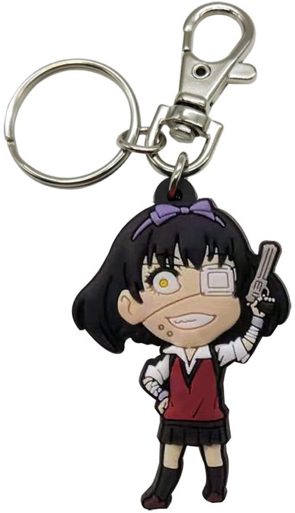 Kakegurui Sd Ikishima Midori Pvc Keychain - Kakegurui Sd Ikishima Midori Pvc Keychain (Key)
