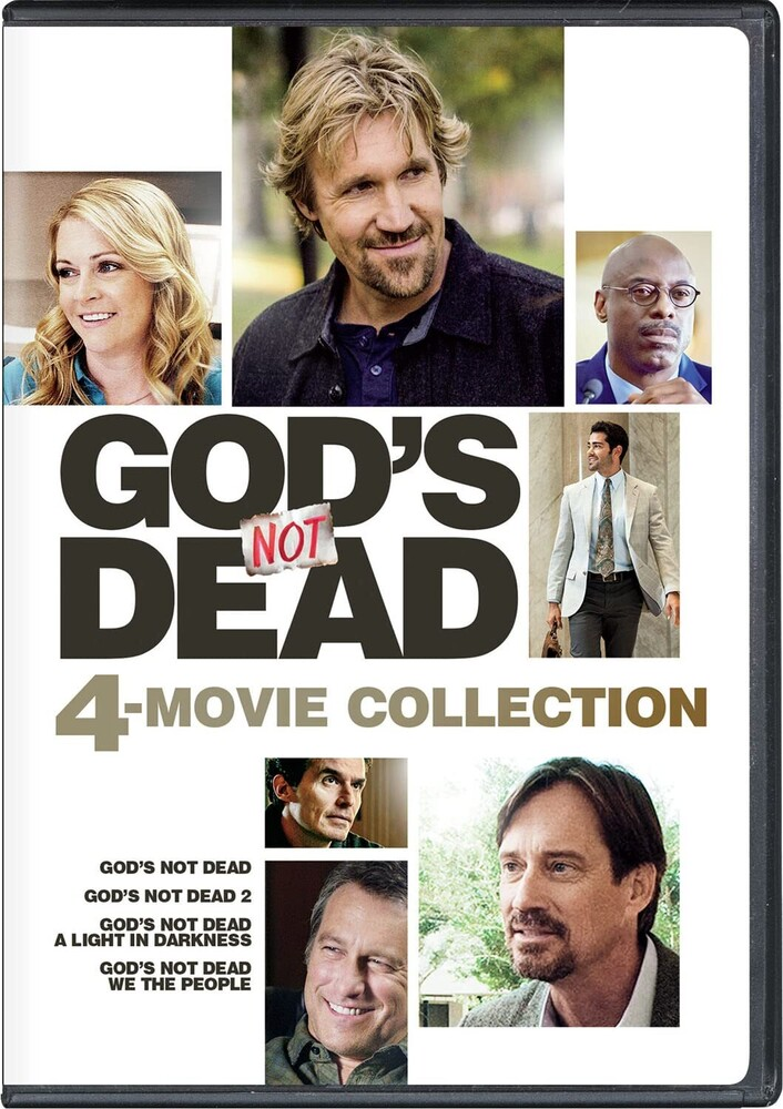 God's Not Dead: 4-Movie Collection - God's Not Dead: 4-Movie Collection (4pc) / (Box)