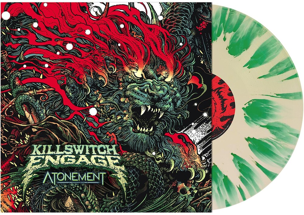Killswitch Engage - Atonement [Indie Exclusive Limited Edition Cream with Green Splatter LP]