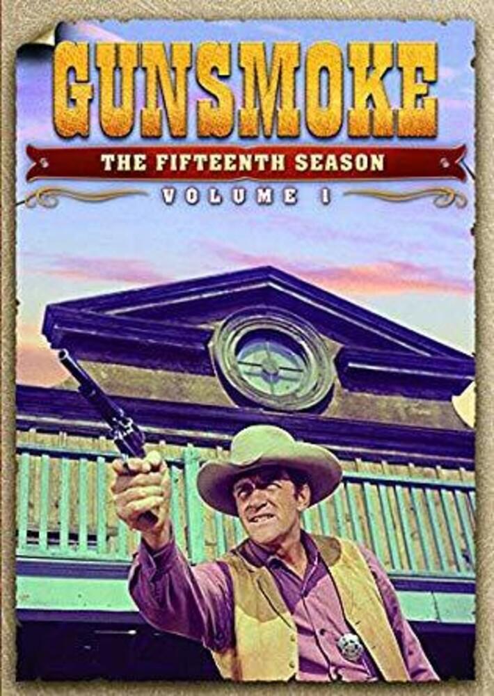 Gunsmoke: Fifteenth Season - Vol 1 - Gunsmoke: Fifteenth Season - Vol 1 (4pc) / (Box)