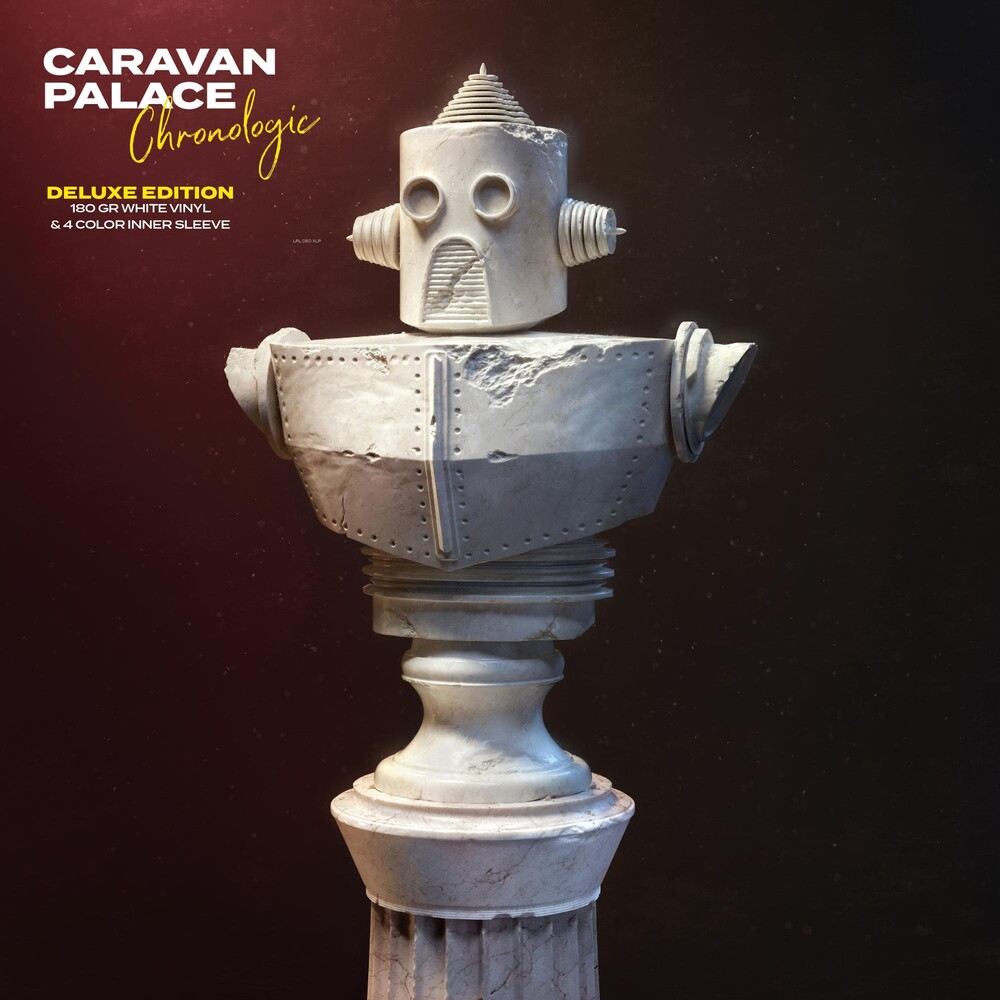 Caravan Palace - Chronologic [Deluxe Limited Edition White LP]
