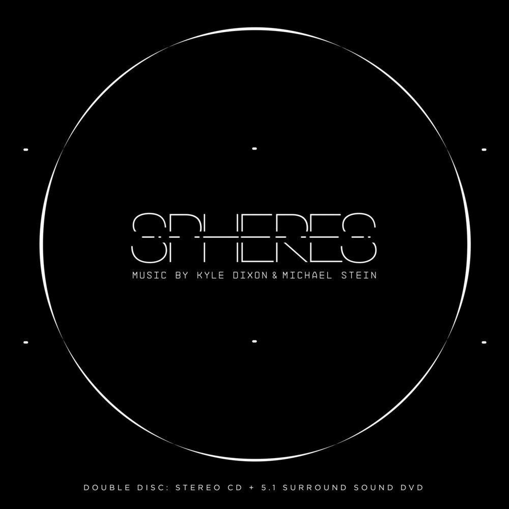 - Spheres: Stereo Cd + 5.1 Surround Sound Dvd