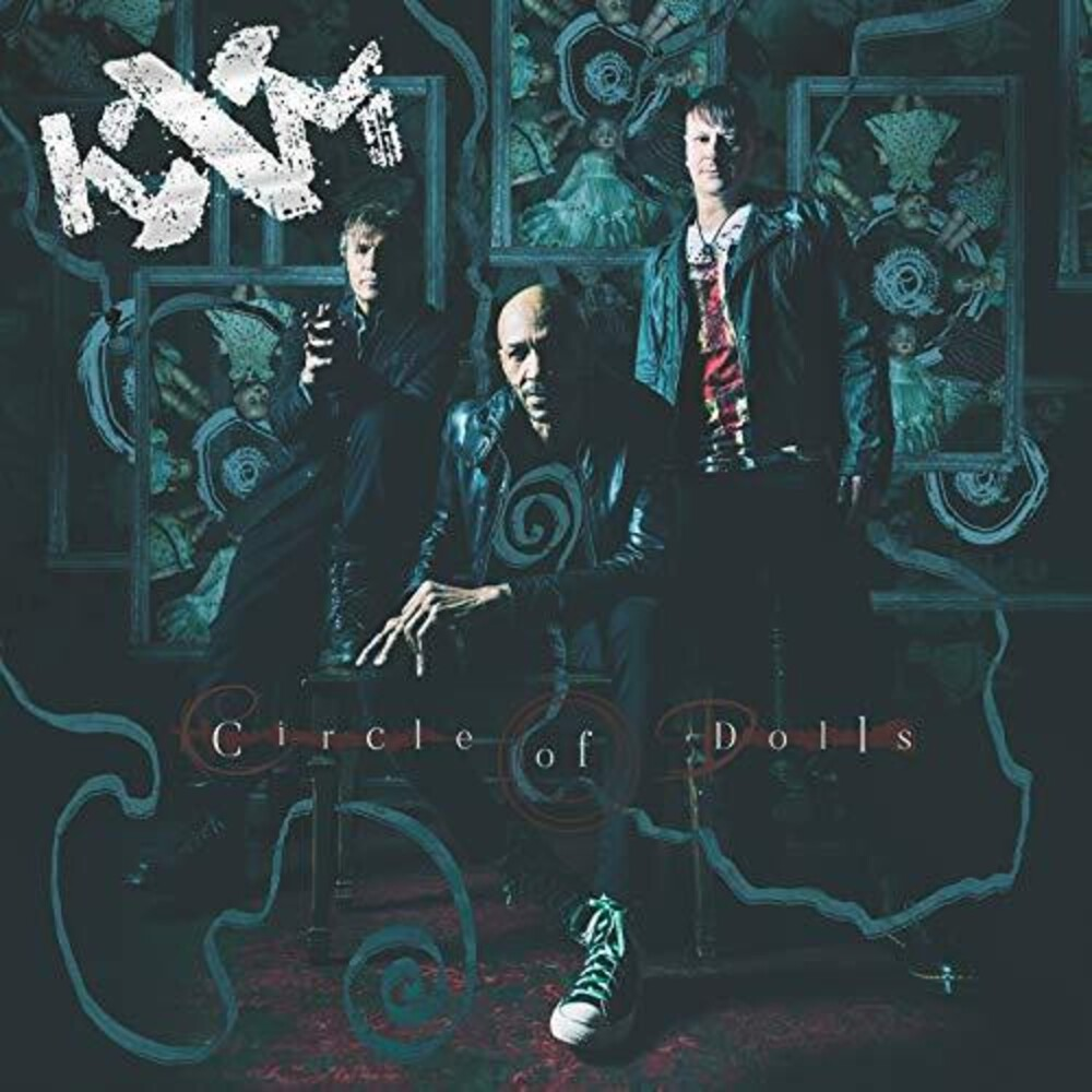 KXM - Circle Of Dolls [Limited Edition Turquoise & Black Splatter LP]