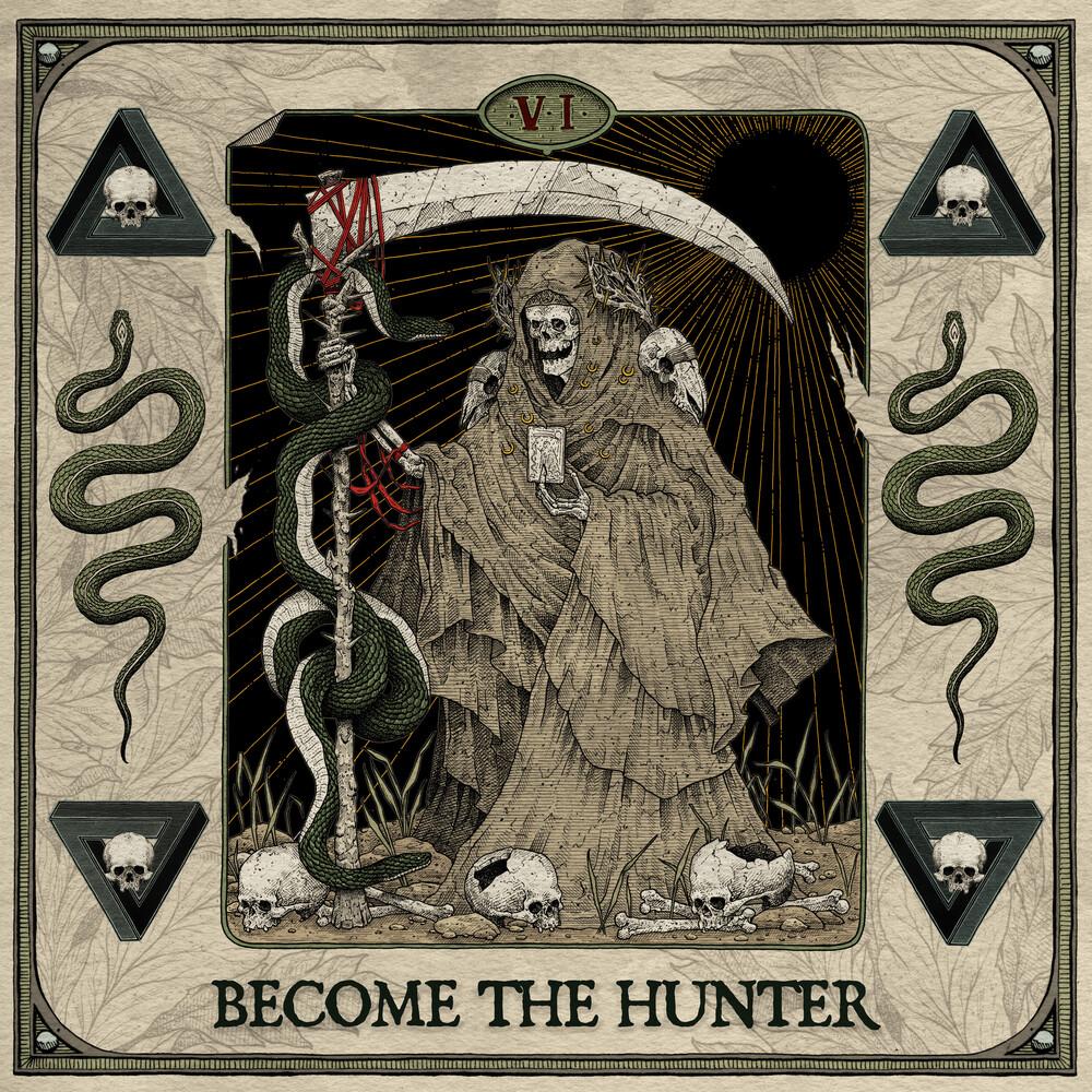 Suicide Silence - Become The Hunter [Bone/Black Splatter LP]