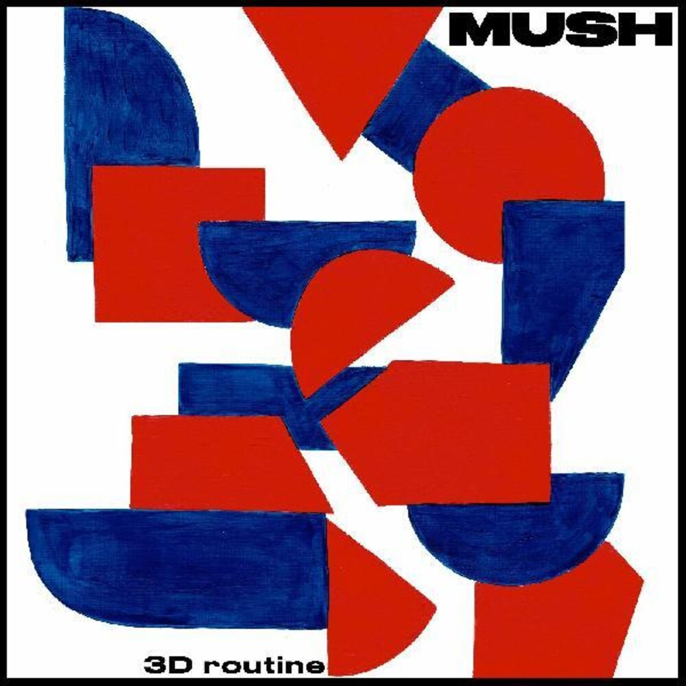 Mush - 3D Routine [Limited Edition Orange LP]