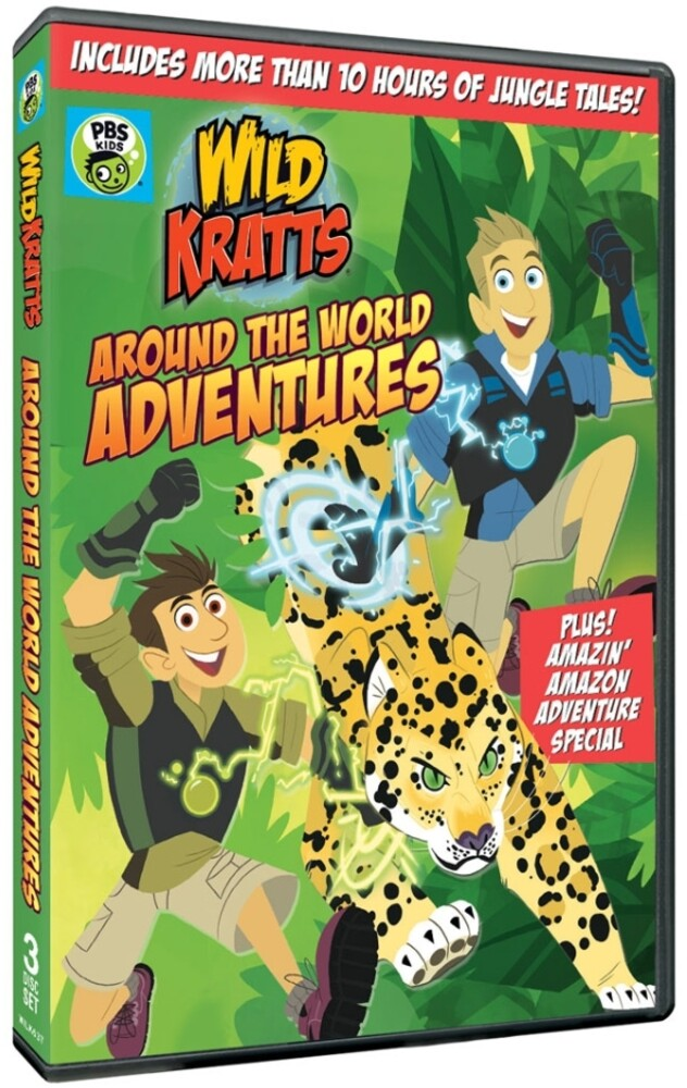 - Wild Kratts: Around The World Adventures (3pc)
