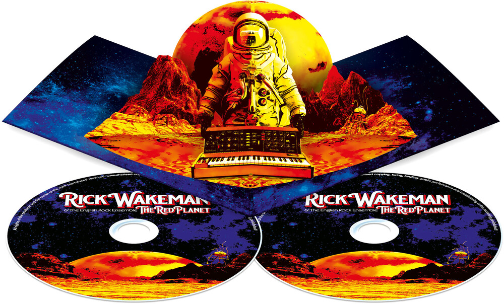 Rick Wakeman - The Red Planet [Import Limited Edition CD/DVD]