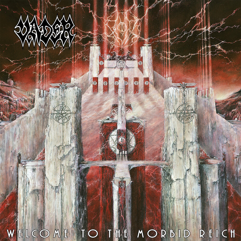 Vader - Welcome To The Morbid Reich [Import Red LP]