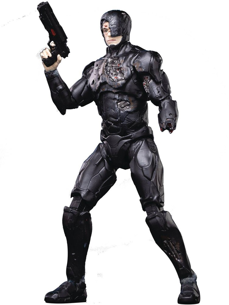 Hiya Toys - Hiya Toys - Robocop 2014 Battle-Damaged Robocop PX 1/18 Scale Figure