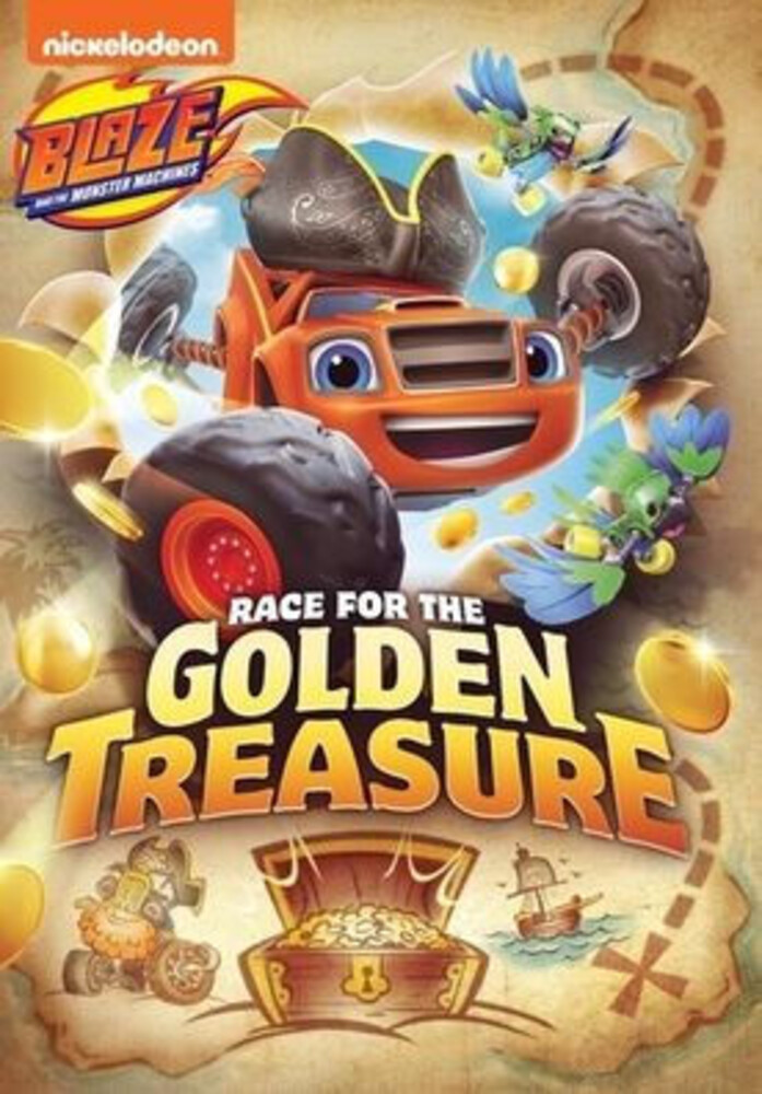 Blaze & the Monster Machines: Race for the Golden - Blaze & The Monster Machines: Race For The Golden
