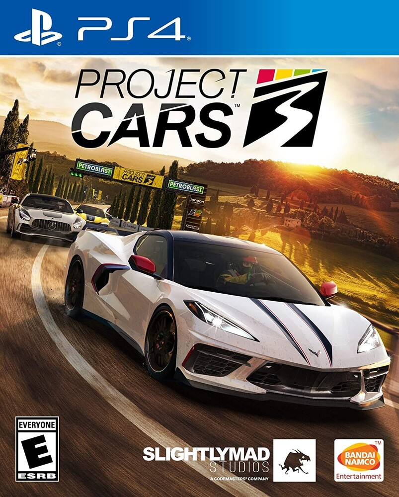 Ps4 Project Cars 3 - Project Cars 3 for PlayStation 4