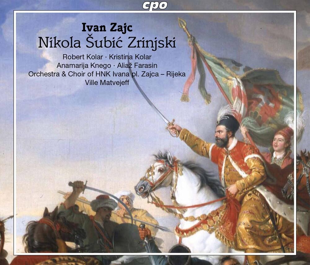 Zajc / Rijeka Opera Choir / Matvejeff - Nikola Subic Zriinjski (2pk)