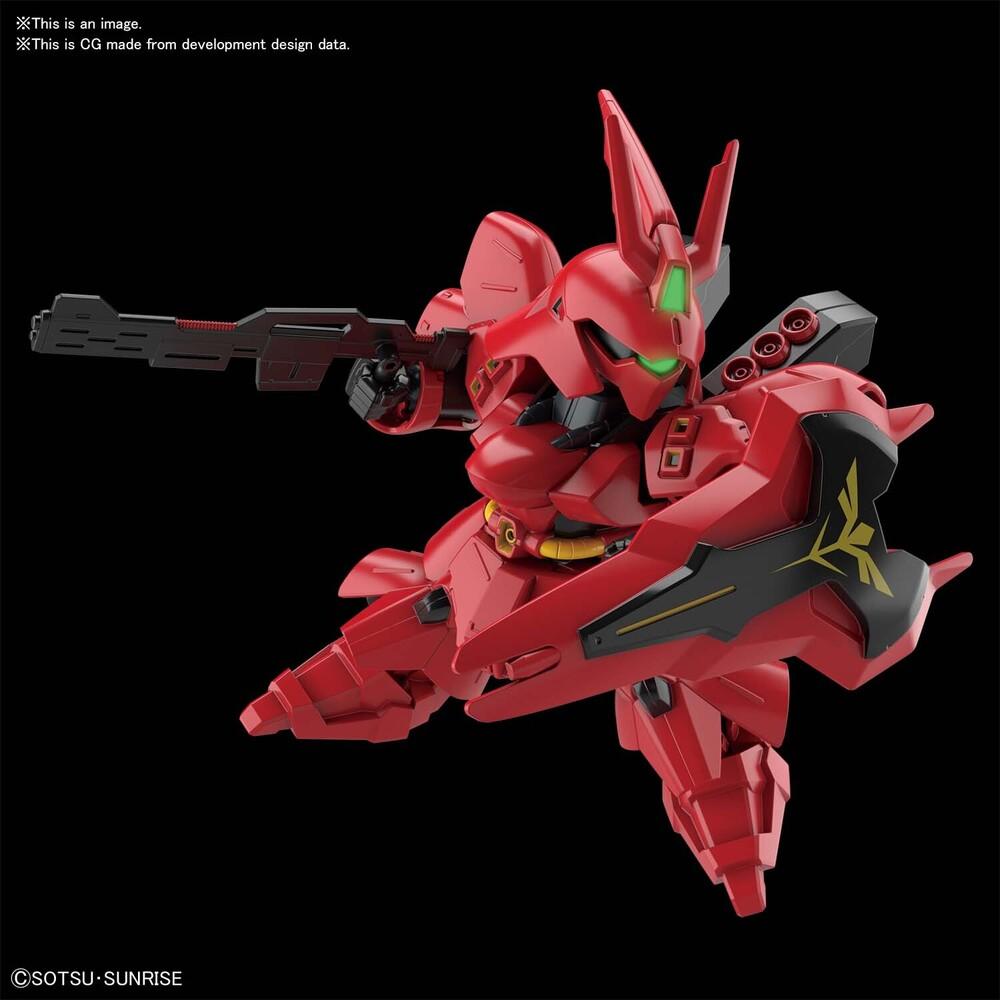 Bandai Hobby - Bandai Hobby - Char's Counterattack - Sazabi, Bandai Spirits SD Gundam EX-Standard