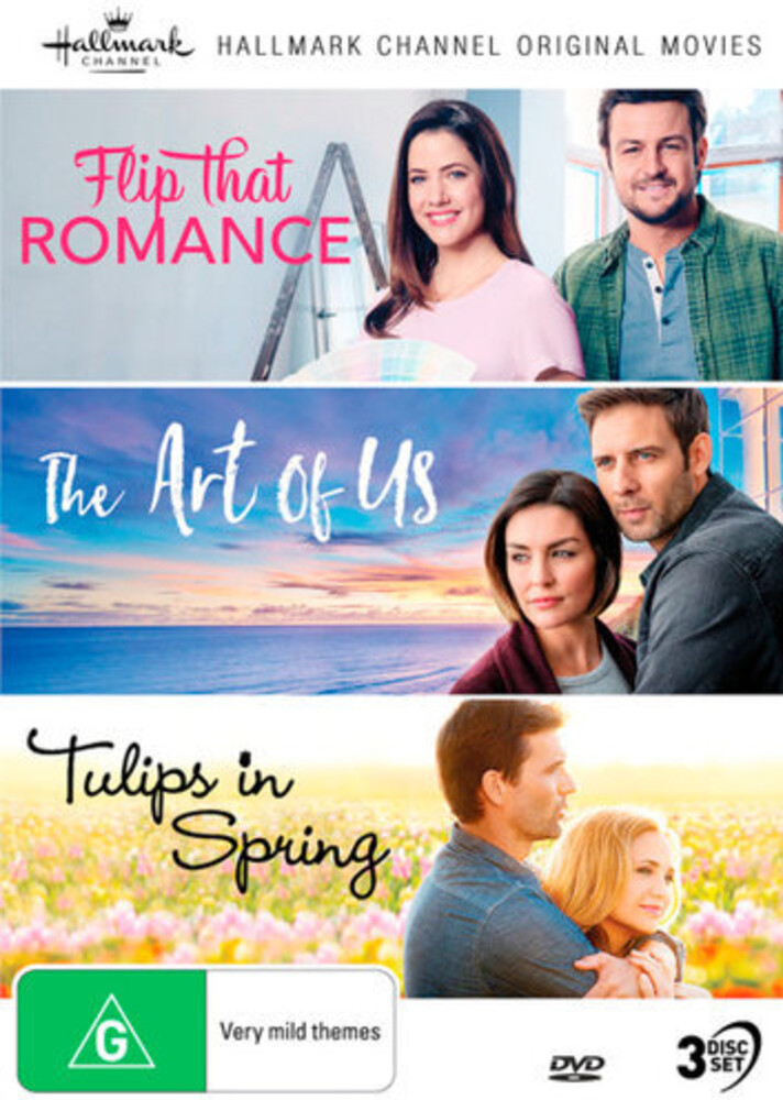 - Hallmark Collection 8: Flip That Romance / The Art Of Us / Tulips In Spring [NTSC/0]