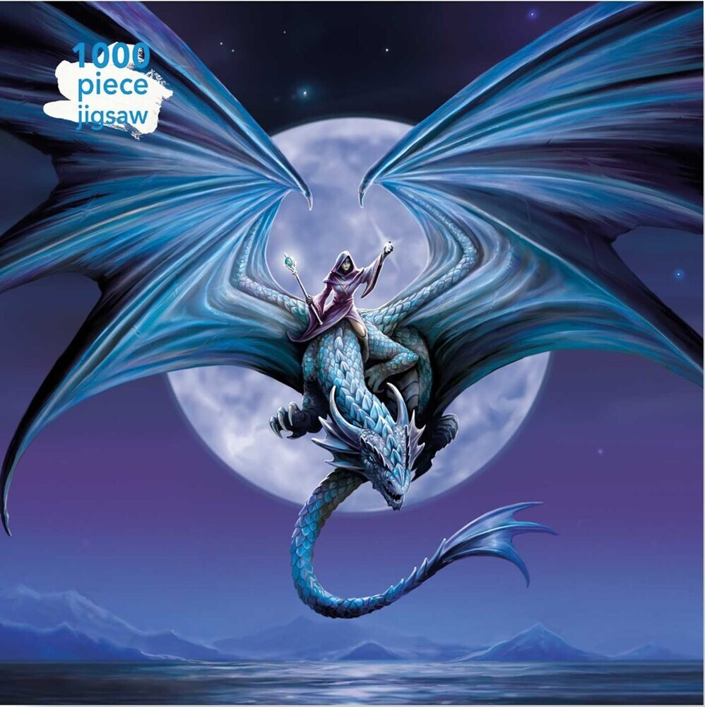 - Adult Jigsaw Puzzle Anne Stokes: Moonstone: 1000-piece Jigsaw Puzzles