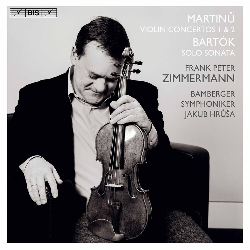 Zimmerman/Schiff - Violin Concertos 1 & 2 (Hybr)