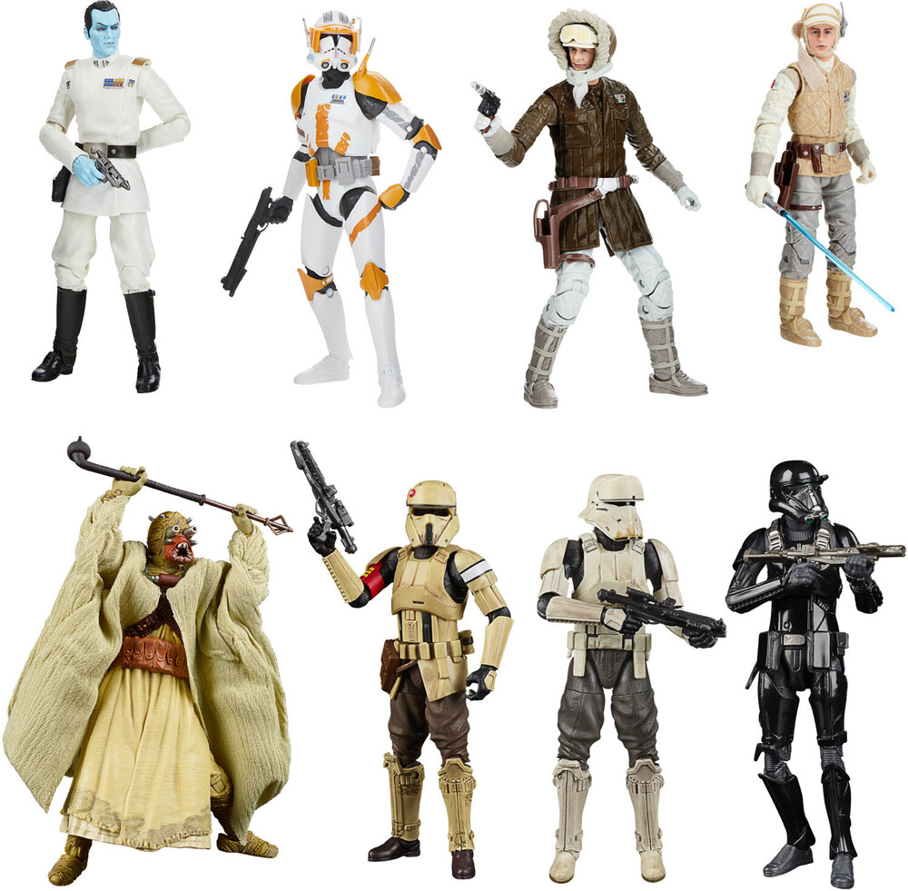 - Hasbro Collectibles - Star Wars Black Series Greatest Hits Assortment