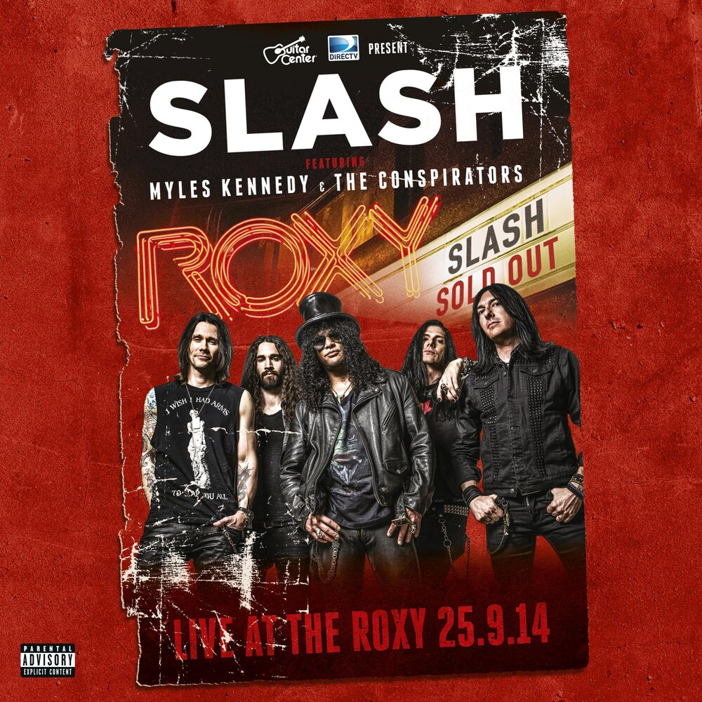 Slash - Live At The Roxy [Limited Edition Gold 3LP]