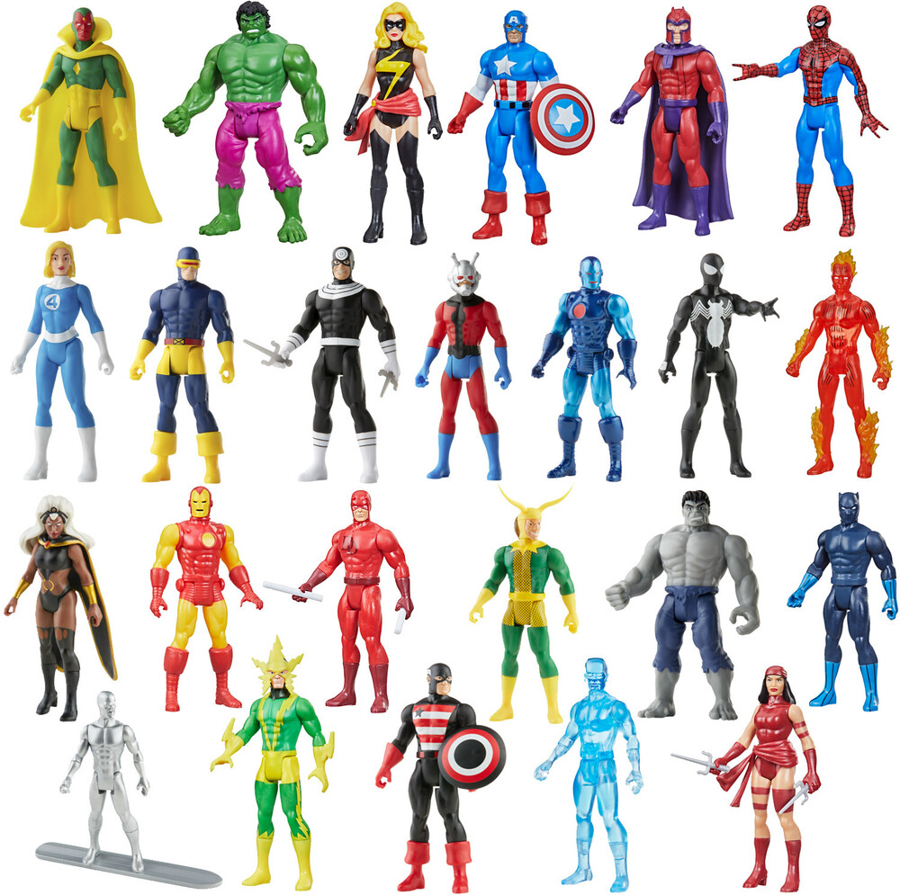 - Hasbro Collectibles - Marvel Legends Recollect Retro Assrotment