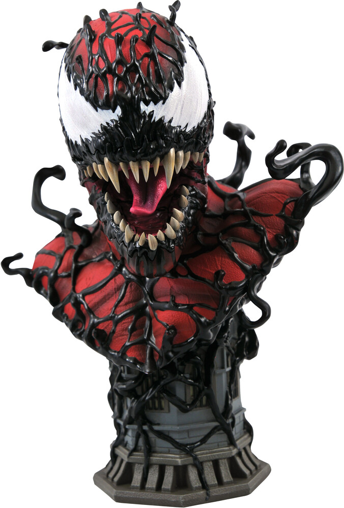 Diamond Select - Diamond Select - Marvel Legends In 3D Carnage 1/2 Scale Bust