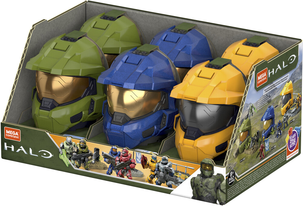 Mega Bloks Halo - MEGA Brands - HALO Master Chief Play Packaging Assortment