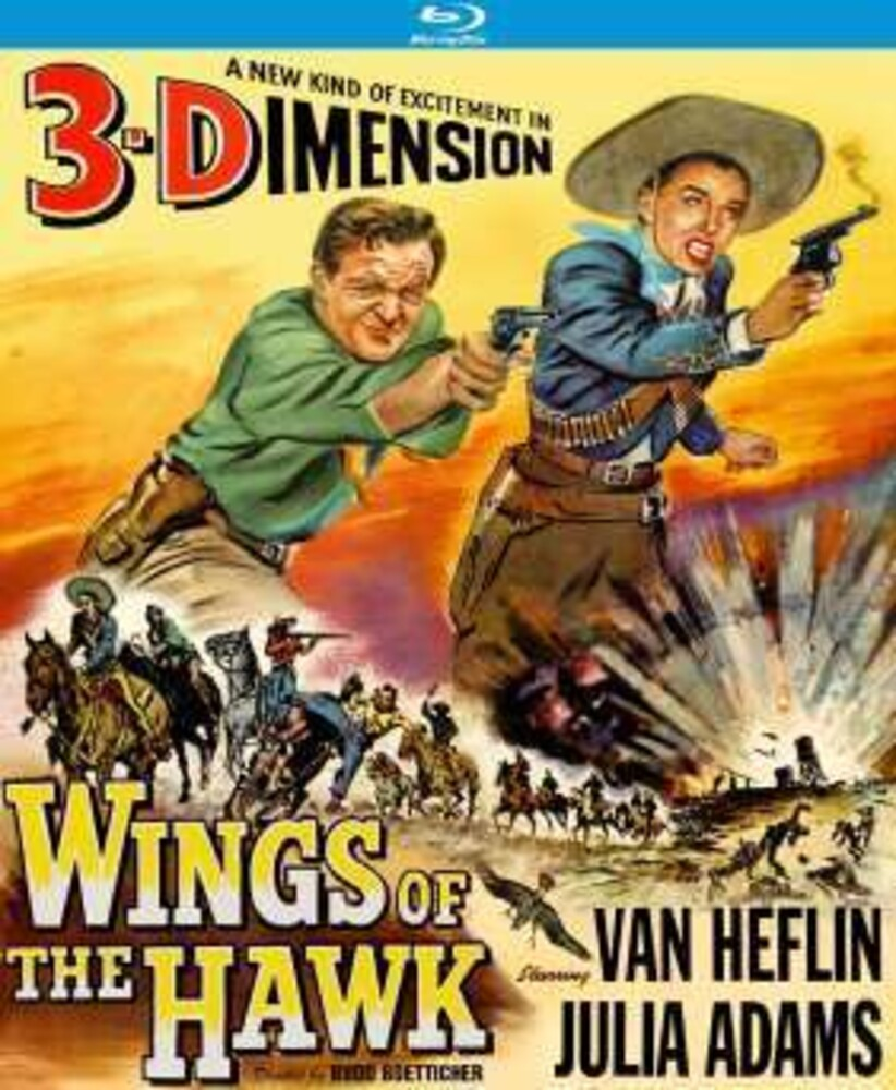Wings of the Hawk 3-D (1956) - Wings Of The Hawk 3-D (1956) / (Spec 3-D)