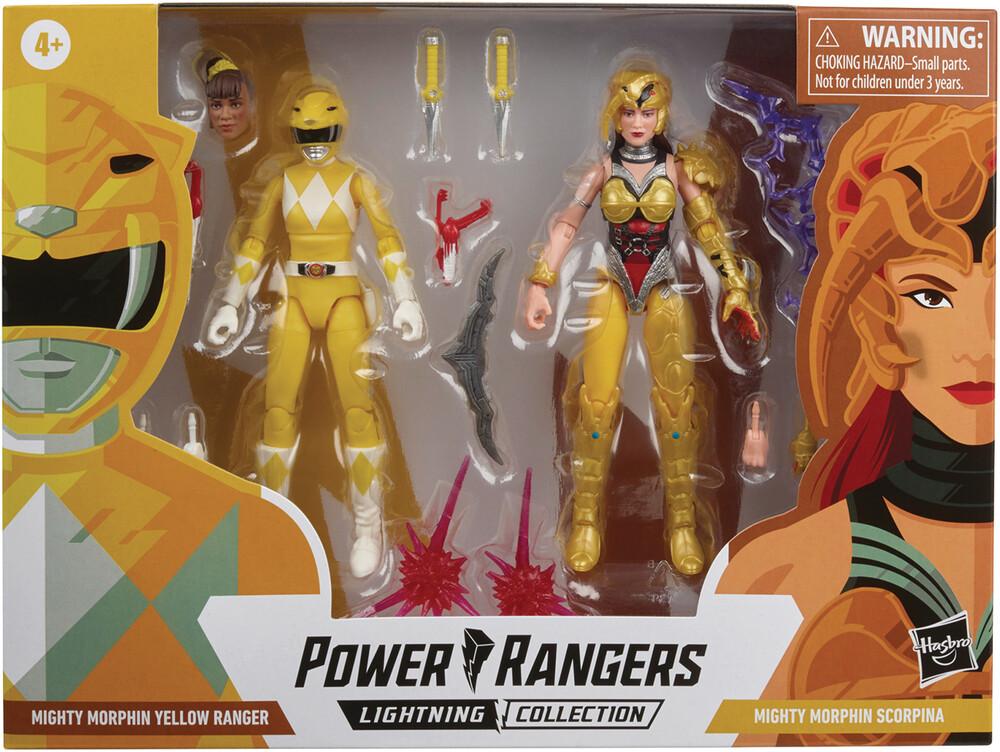 Prg Blt 6in Battle Pk Sre Nuclear Venus - Hasbro Collectibles - Power Rangers 6 Inch Battle Pack Sre NuclearVenus