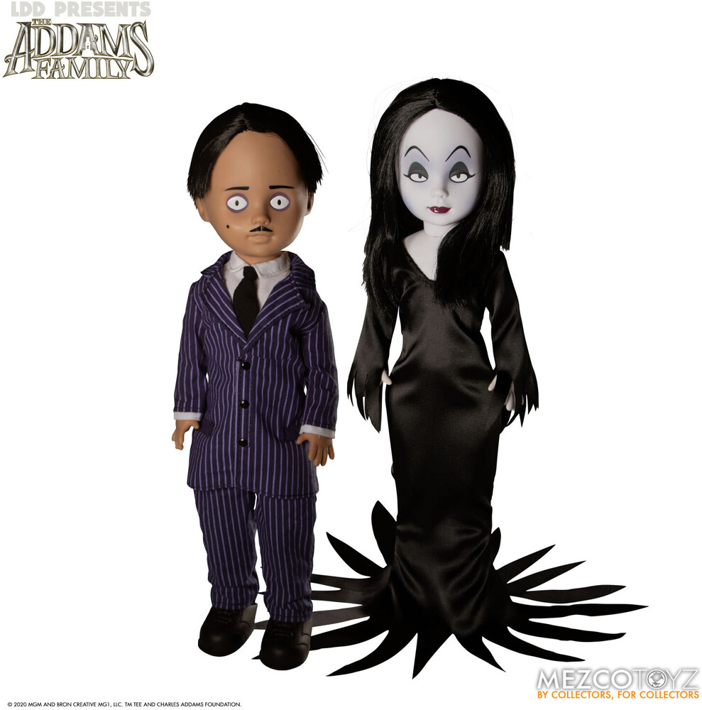Living Dead Dolls Presents: The Addams Family - Mezco - Living Dead Dolls Presents: The Addams Family