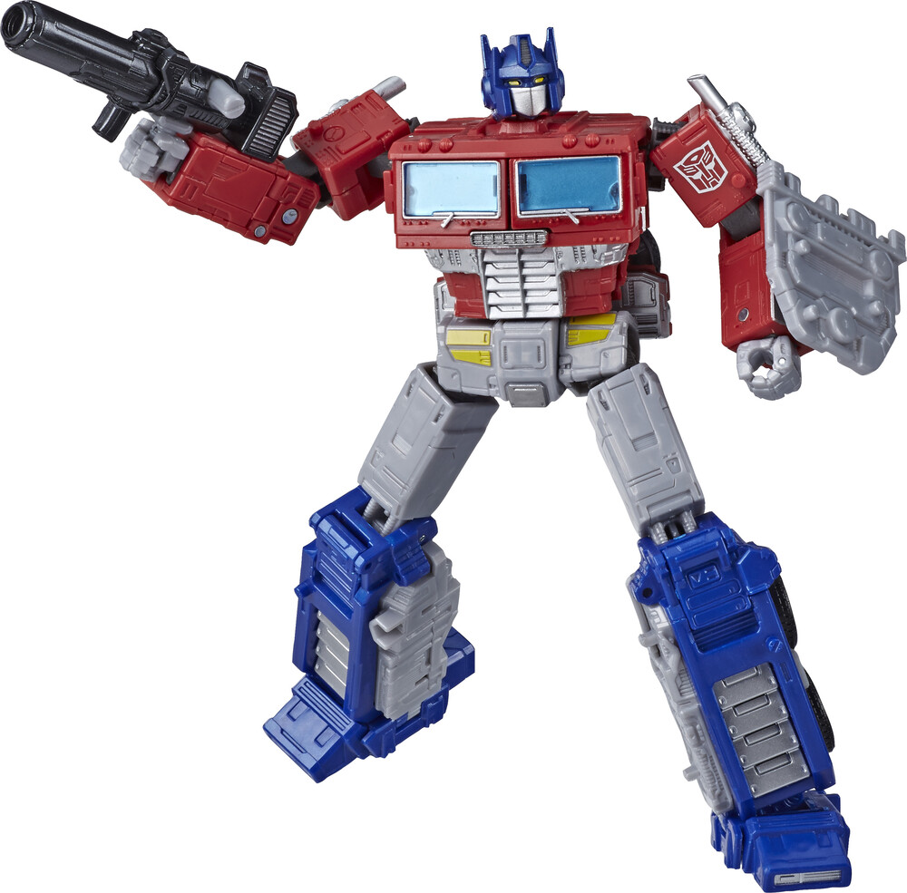 Tra Gen Wfc E Leader Optimus Prime - Hasbro Collectibles - Transformers Generations War For Cybertron Earthrise Leader Optimus Prime