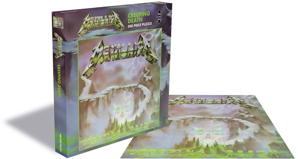 Metallica Creeping Death (500 Piece Jigsaw Puzzle) - Metallica Creeping Death (500 Piece Jigsaw Puzzle)