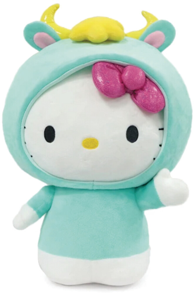 - NECA - Hello Kitty x Nissin Cup Noodle Fork & Bow Interactive Plush
