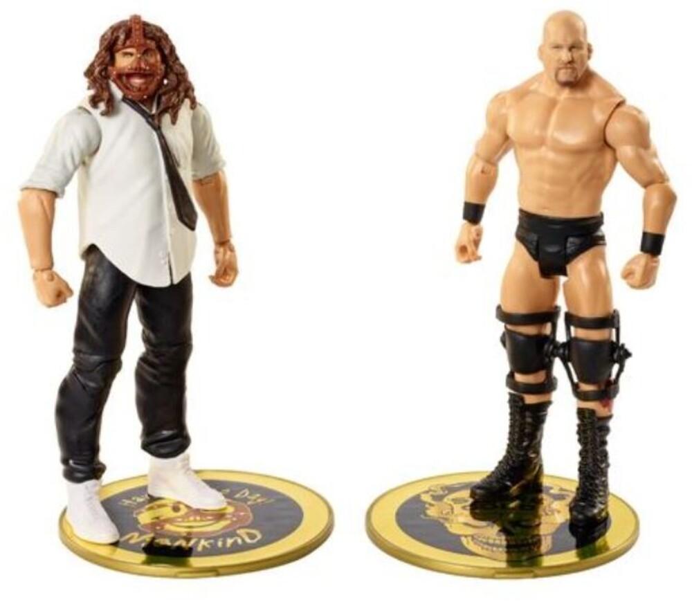 WWE - Mattel Collectible - WWE Basic Battle Packs: Stone Cold Steve Austin vs. Mankind