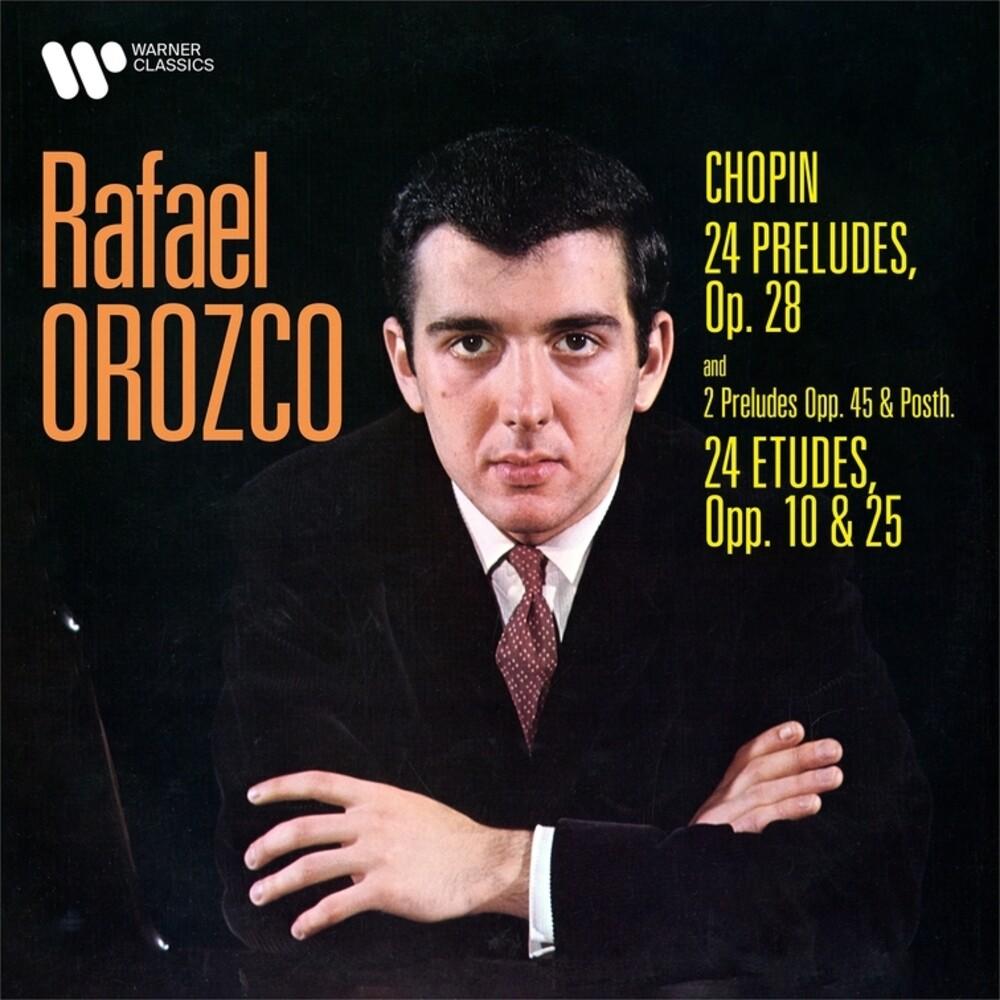 Rafael Orozco - Chopin-24 Preludes Op.28-Preludes No. 25 & 26; 24 Etudes Op.10 & 25