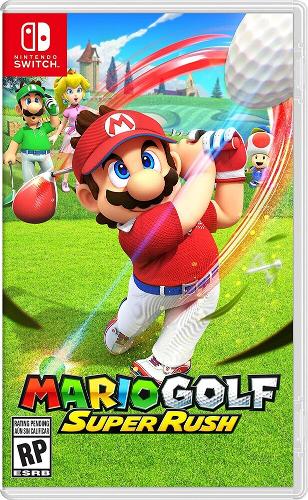 - Mario Golf: Super Rush for Nintendo Switch
